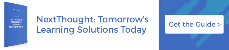 NextThought: Tomorrow's Learning Solutions Today